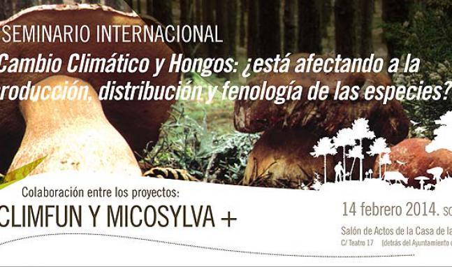 Seminario ClimFun, Soria 14 de febrero de 2014. Micosylva