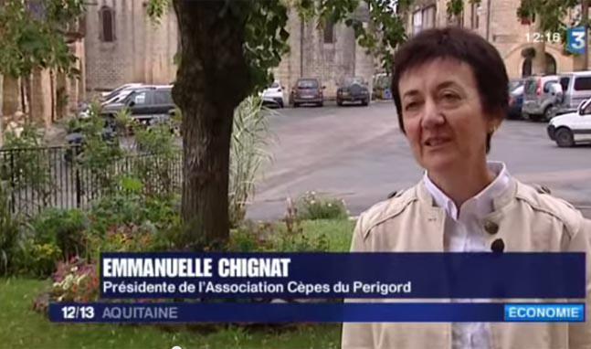 Cèpes du Périgord France3